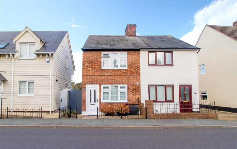 2 Bedrooms Semi Detached House for sale in St Johns Road, Colchester CO4