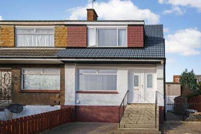 3 Bedrooms Semi Detached House for sale in Rossie Crescent, Bishopbriggs