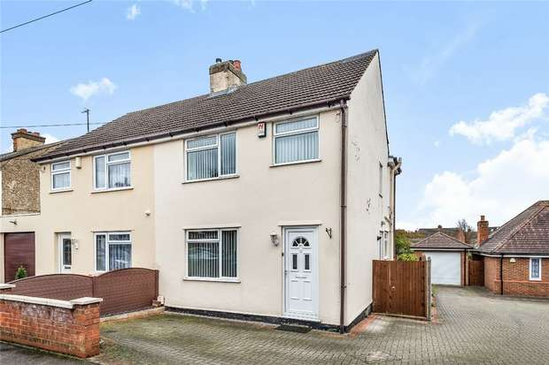 3 Bedrooms Semi Detached House for sale in Howard Street, Kempston, Bedford