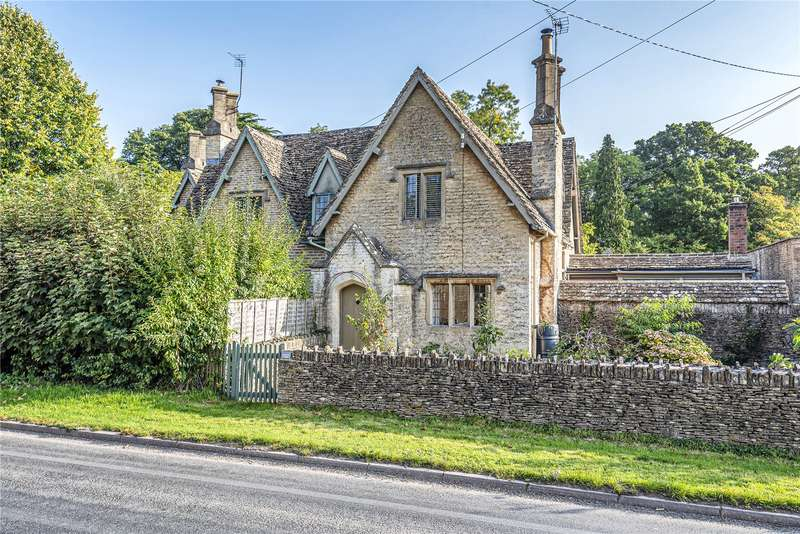 3 Bedrooms Semi Detached House for sale in Woodlands Cottage, Westonbirt, Tetbury, GL8