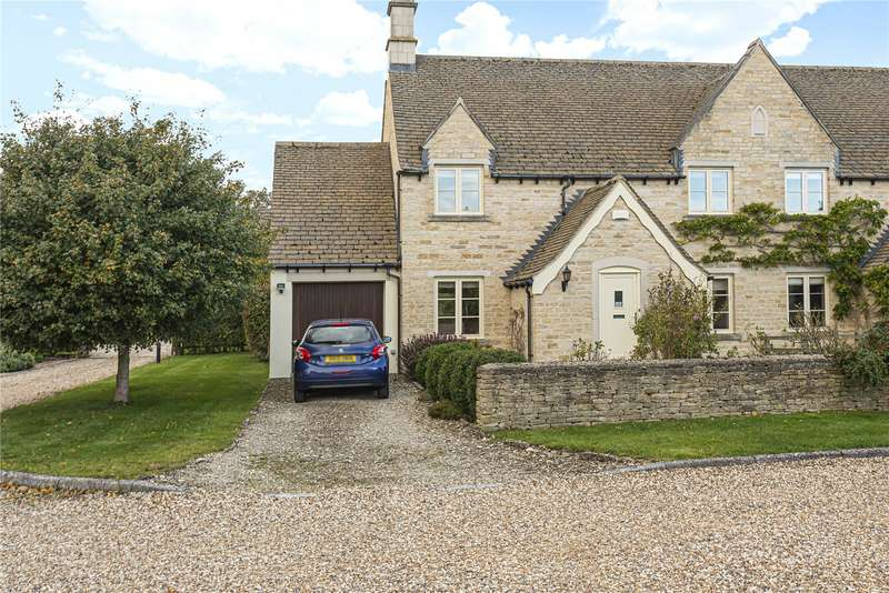 3 Bedrooms Semi Detached House for sale in The Old Estate Yard, Down Ampney, Cirencester, GL7