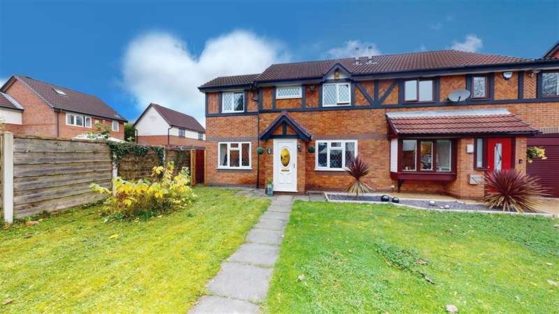 3 Bedrooms Semi Detached House for sale in Ringley Meadows, Radcliffe, Manchester, M26 1ER