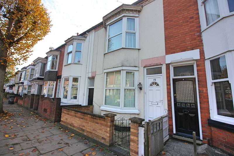 3 Bedrooms Terraced House for sale in Eastleigh Road, West End, Leicester
