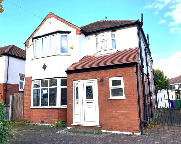 5 Bedrooms Detached House for sale in Dene Road, Manchester, Greater Manchester, M20