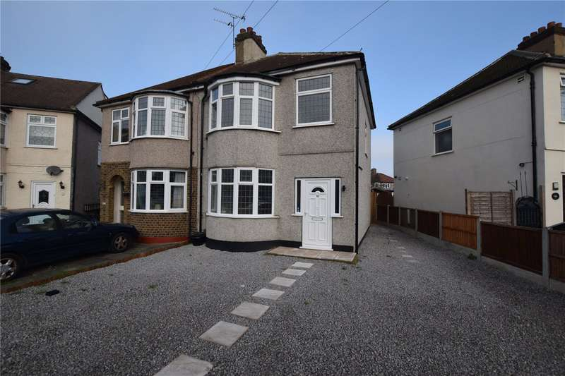 3 Bedrooms Semi Detached House for sale in Eddy Close, Romford, RM7