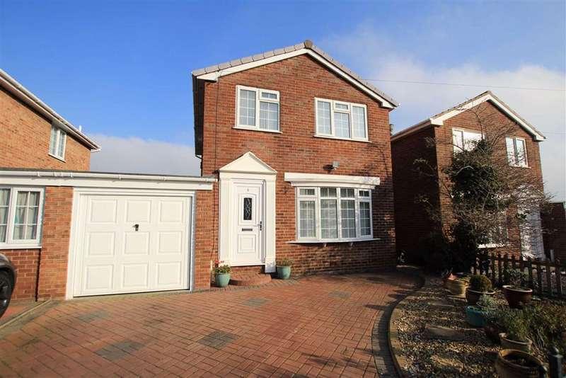 3 Bedrooms Link Detached House for sale in Maes Teg, Flint, Flintshire, CH6