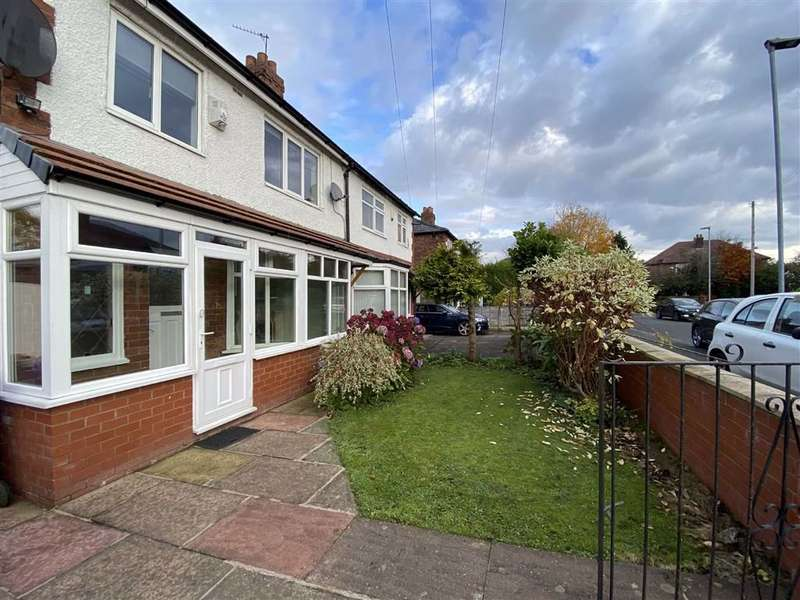 3 Bedrooms Semi Detached House for rent in Dalmorton Road, Chorlton