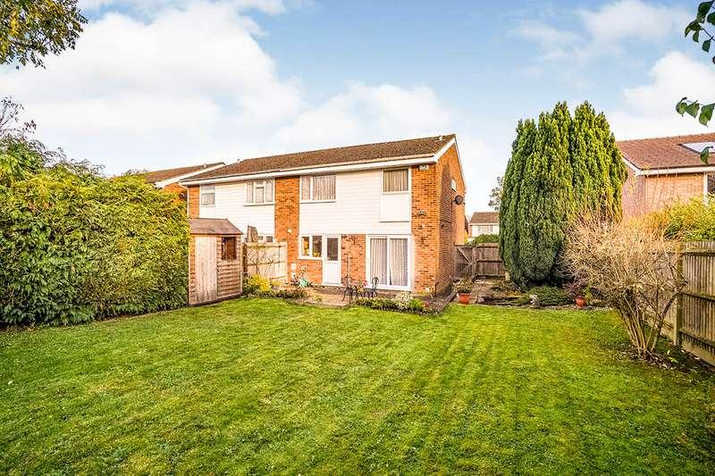 4 Bedrooms Semi Detached House for sale in Parr Crescent, Hemel Hempstead, Hertfordshire, HP2