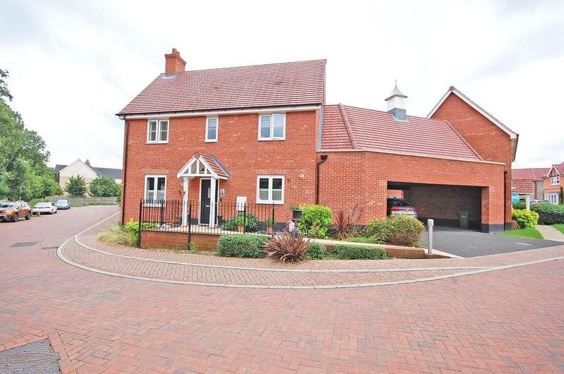 3 Bedrooms Link Detached House for sale in Hogarth Court, Sible Hedingham, Halstead, CO9