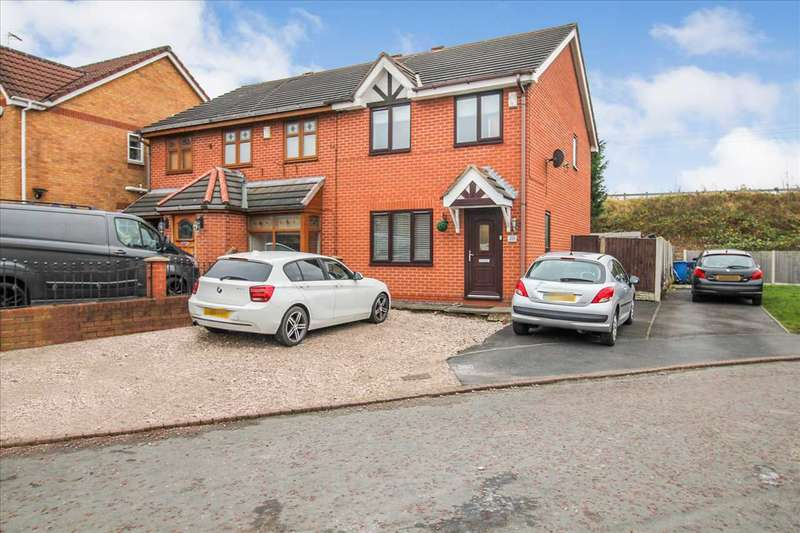 3 Bedrooms Semi Detached House for sale in Wilson Avenue, Springfield, Wigan