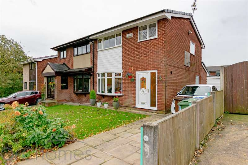 3 Bedrooms Semi Detached House for sale in Meadowbank Avenue, Atherton, Manchester