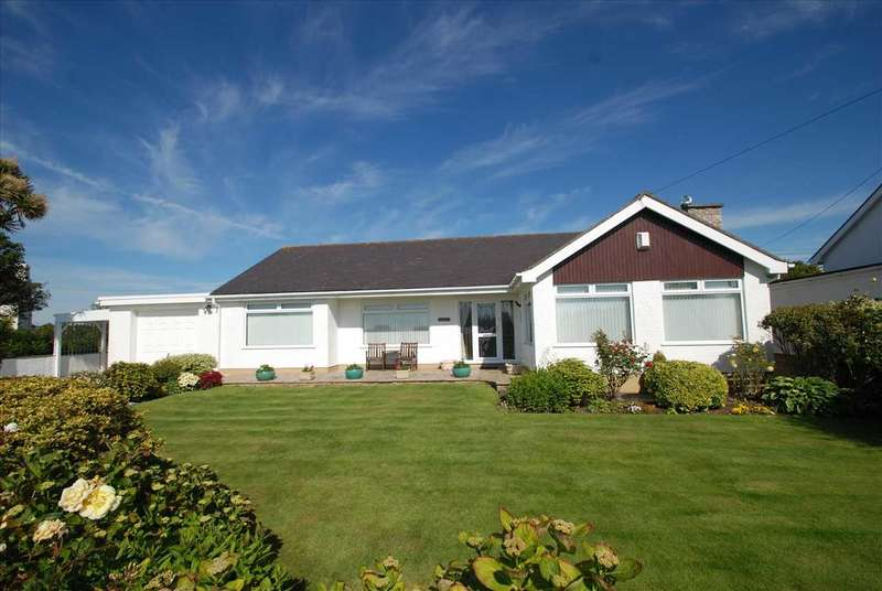 3 Bedrooms Detached Bungalow for sale in Delgarda, Off Stanley Mill Lane, Trearddur Bay