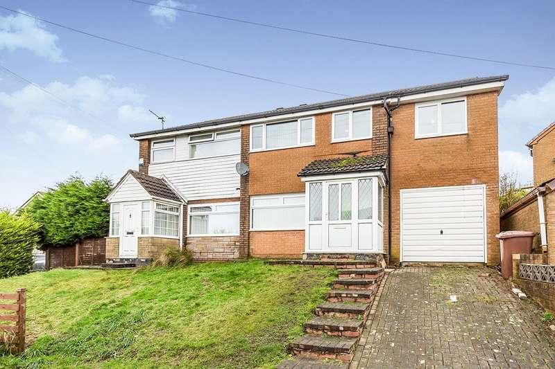 4 Bedrooms Semi Detached House for sale in Moor Close, Darwen, Lancashire, BB3
