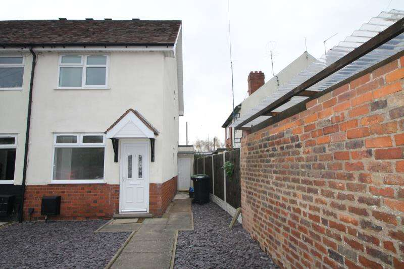2 Bedrooms Semi Detached House for rent in Sun Street, Quarry Bank, Brierley Hill, Dy5
