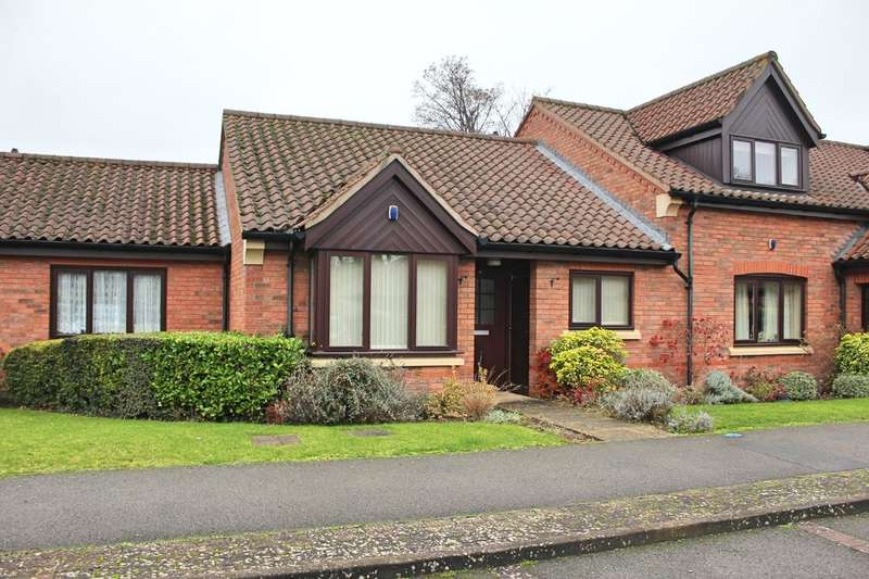 2 Bedrooms Terraced Bungalow for sale in Honeywell Close, Oadby, Leicester