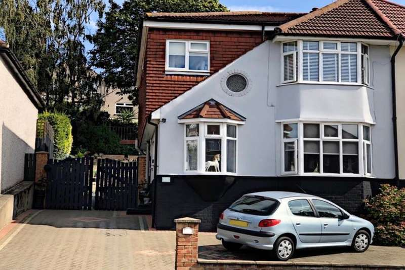 4 Bedrooms Semi Detached House for sale in Thirlmere Road, Bexleyheath, DA7