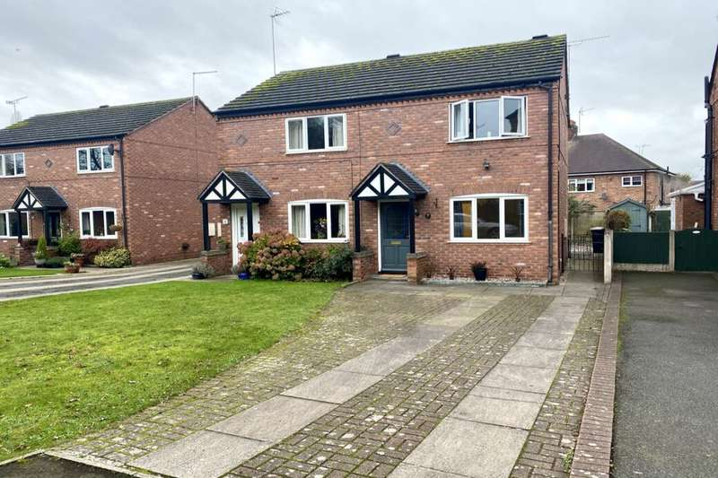 2 Bedrooms Semi Detached House for rent in The Blankney, Nantwich, CW5