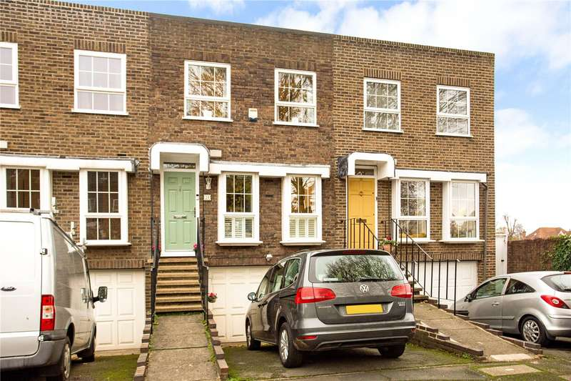5 Bedrooms Terraced House for sale in Shaftesbury Way, Twickenham, TW2