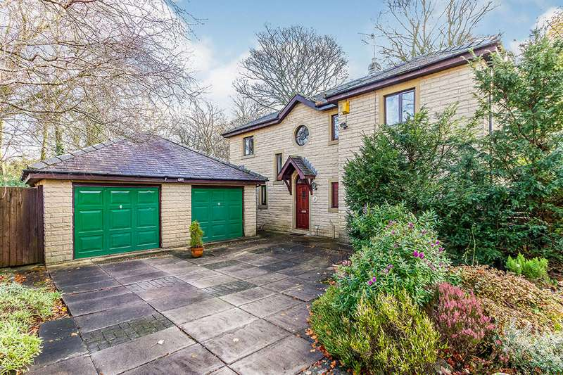 4 Bedrooms Detached House for sale in Palace Gardens, Padiham Road, Burnley, Lancashire, BB12