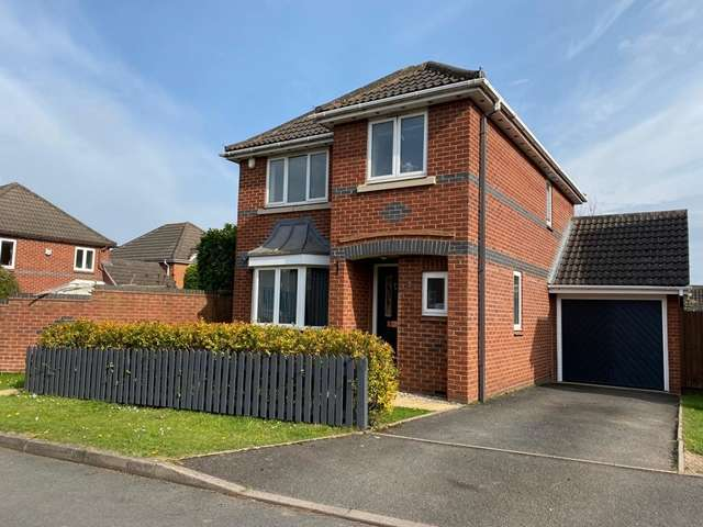 3 Bedrooms Detached House for rent in Pirie Avenue, Warndon Villages, Worcester