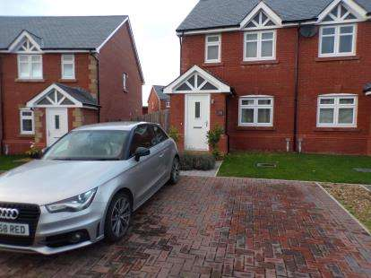 3 Bedrooms Semi Detached House for sale in Gwel Y Llan, Caernarfon, LL55