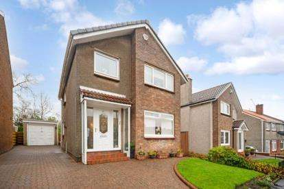 3 Bedrooms Detached House for sale in Greenhill, Bishopbriggs, Glasgow, East Dunbartonshire