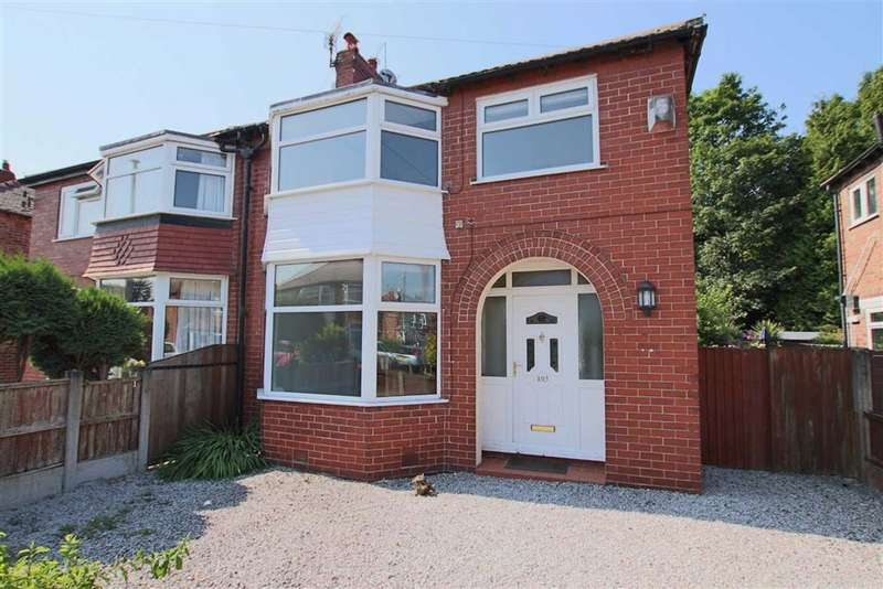 3 Bedrooms Semi Detached House for rent in Downs Drive, Timperley, Timperley