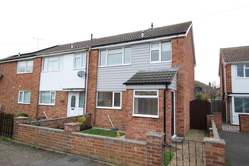 3 Bedrooms End Of Terrace House for sale in Longfellow Road, Maldon