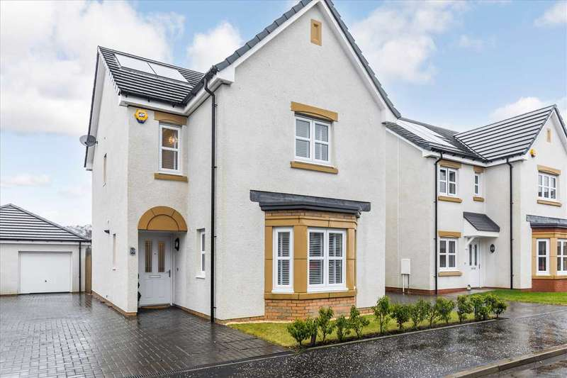 4 Bedrooms Detached House for sale in Tyne Avenue, Benthall, EAST KILBRIDE