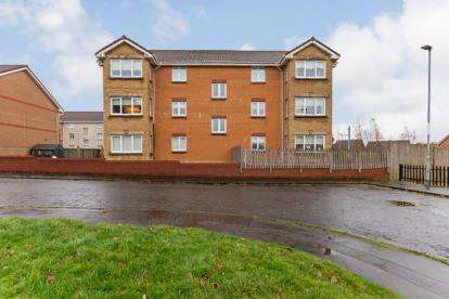 2 Bedrooms Flat for sale in Easterwood Place, Coatbridge, North Lanarkshire
