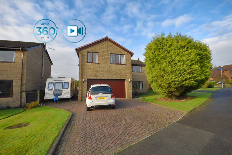 4 Bedrooms Detached House for sale in Longacres Drive, Whitworth, OL12 8JT