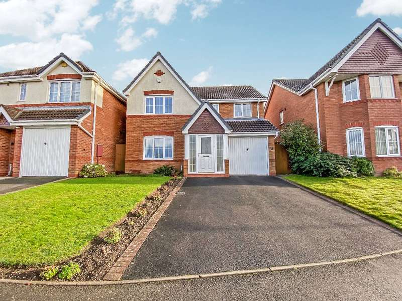 4 Bedrooms Detached House for sale in View Point, Tividale, Oldbury