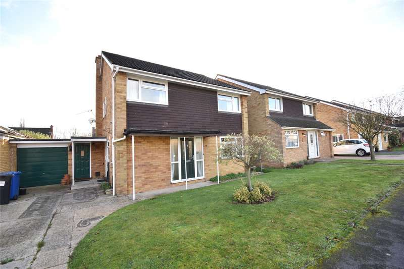 4 Bedrooms Detached House for rent in Lambourne Drive, Maidenhead, Berkshire, SL6