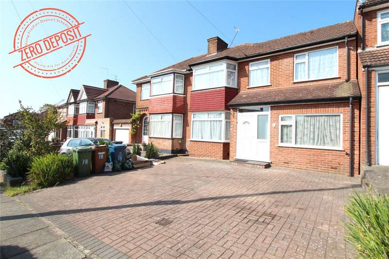 5 Bedrooms Semi Detached House for rent in Coledale Drive, Stanmore, HA7