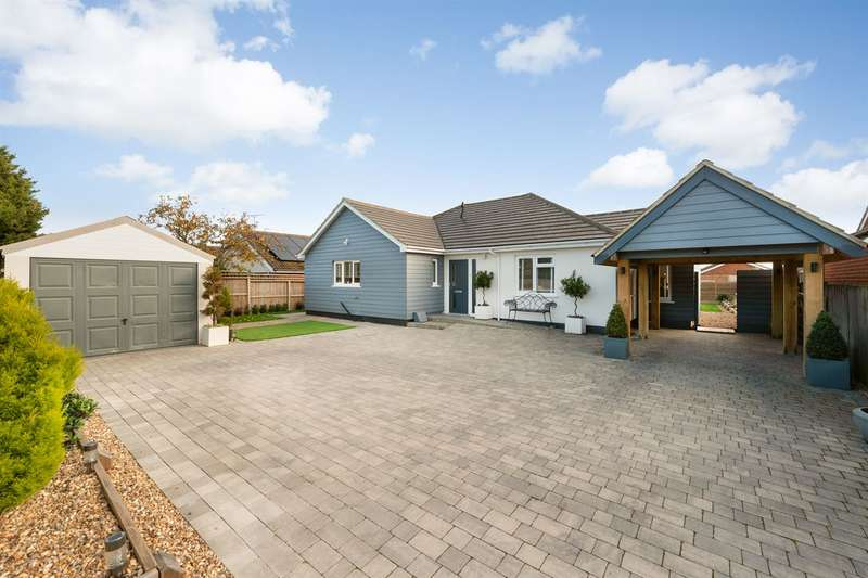 3 Bedrooms Detached Bungalow for sale in Mill Lane, Herne Bay