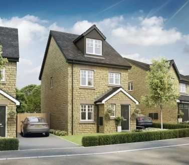 4 Bedrooms Detached House for sale in Plot 42, Cadar, Valour Park, Burnley, BB12