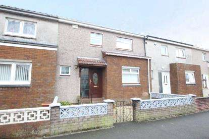 3 Bedrooms Terraced House for sale in Mauchline Court, Kirkintilloch, Glasgow, East Dunbartonshire