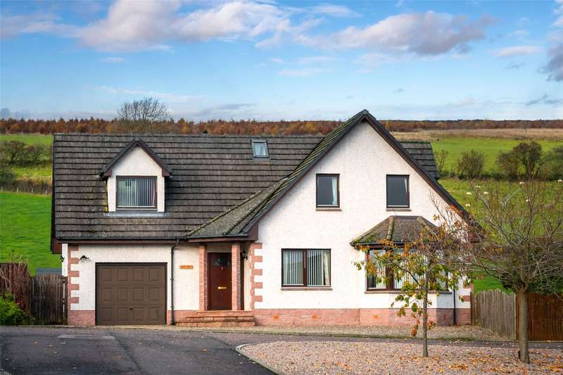 4 Bedrooms Detached House for sale in Brae View, 7 Denwell Court, Alyth, Blairgowrie, PH11
