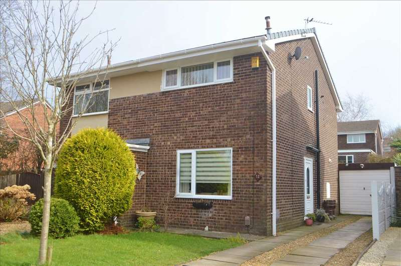 2 Bedrooms Semi Detached House for rent in Edgefield, Astley Village, Chorley