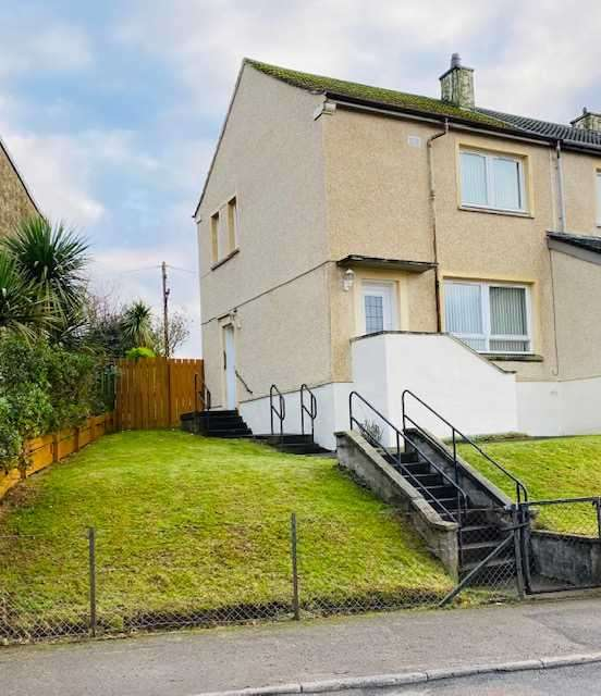 2 Bedrooms End Of Terrace House for sale in Davaar Avenue, Campbeltown