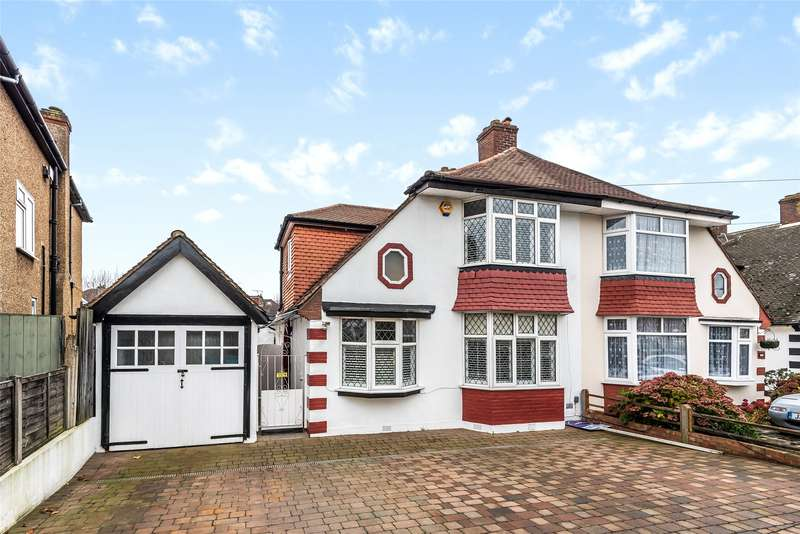 3 Bedrooms Semi Detached House for sale in Gander Green Lane, North Cheam, Sutton, SM3