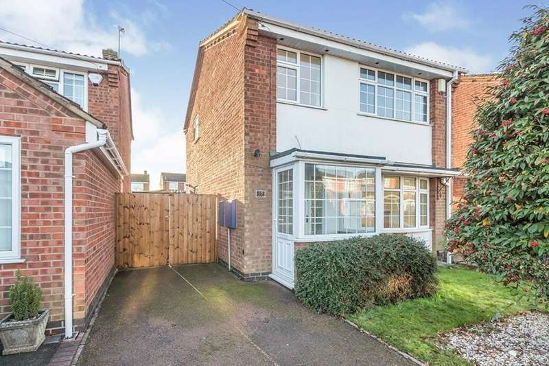 3 Bedrooms Detached House for rent in Aster Way, Burbage, Hinckley, LE10