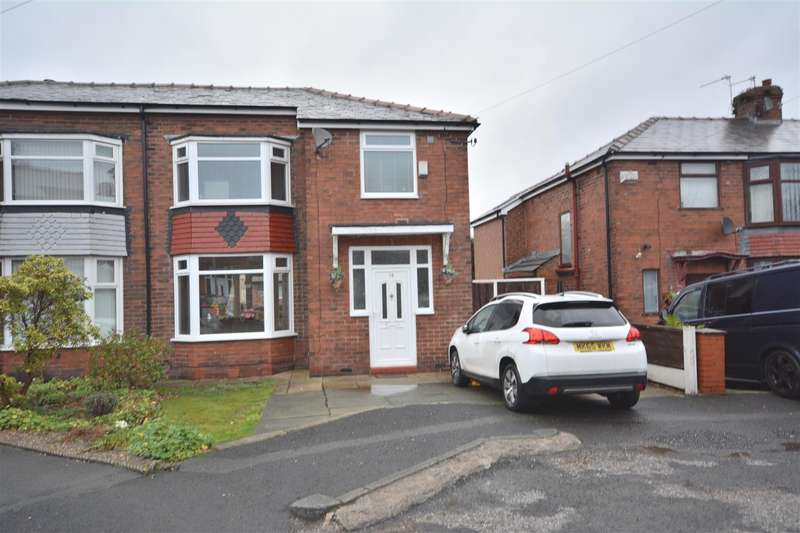 3 Bedrooms Semi Detached House for sale in Masefield Avenue, Prestwich, Manchester