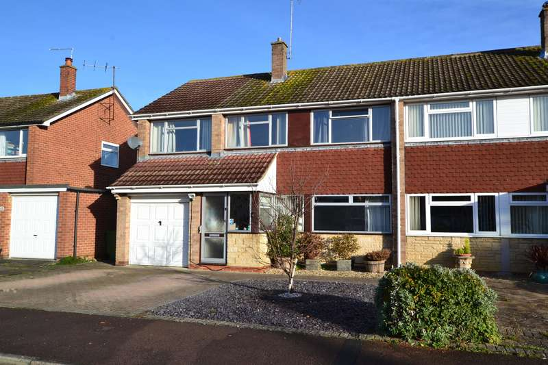 5 Bedrooms Semi Detached House for sale in Fernleigh Crescent, Up Hatherley, Cheltenham, GL51 3QL