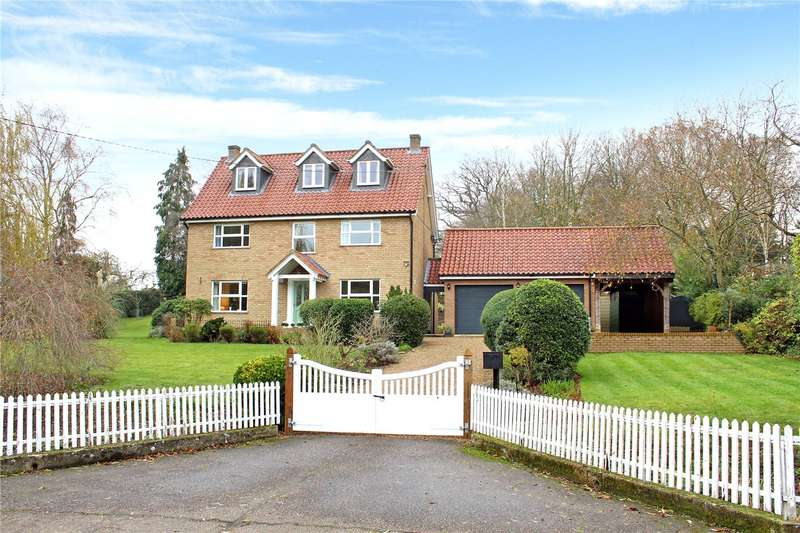 5 Bedrooms Detached House for sale in Low Road, Fressingfield, Eye, IP21