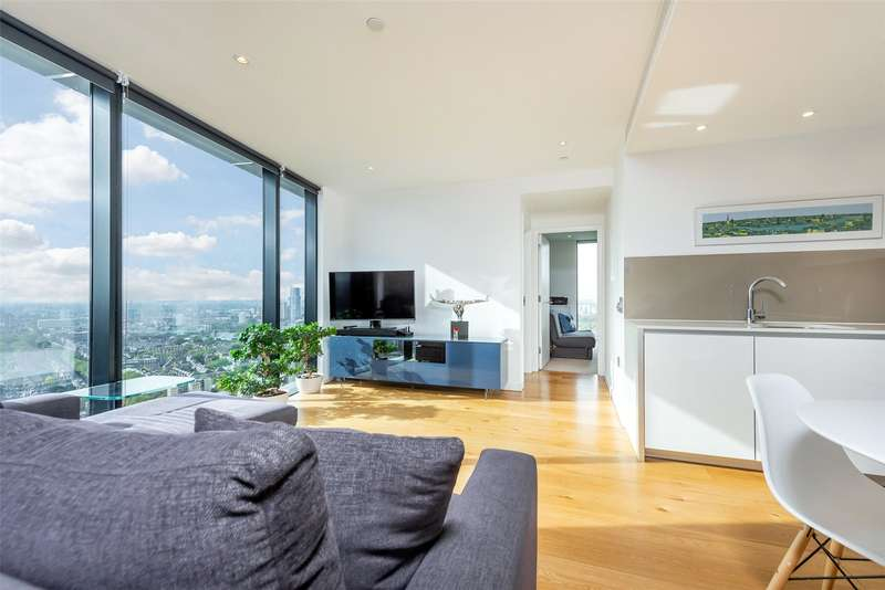 2 Bedrooms Apartment Flat for sale in Strata Tower, 8 Walworth Road, Elephant & Castle, SE1