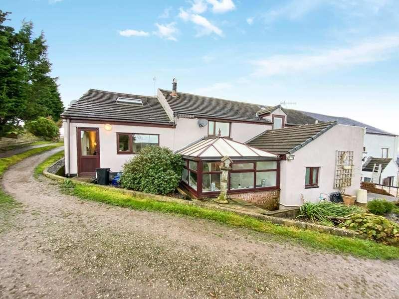 5 Bedrooms Semi Detached House for sale in Higher Westall Lot Farm, Haslingden Old Road, Oswaldtwistle