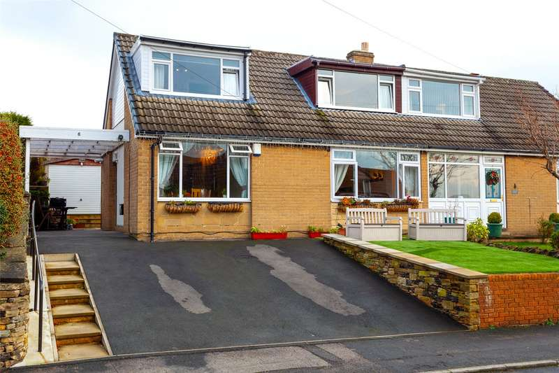 3 Bedrooms Semi Detached House for sale in Orchard Road, Kirkheaton, Huddersfield, West Yorkshire, HD5