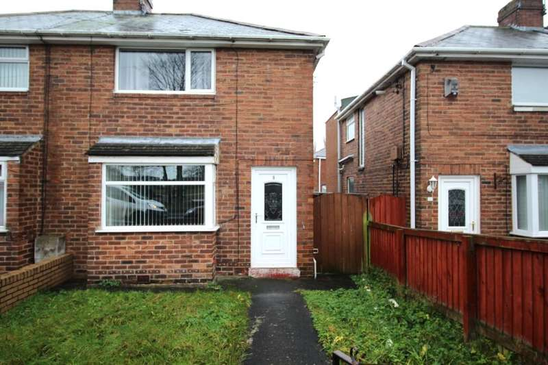 2 Bedrooms Semi Detached House for rent in Glenavon Avenue, Chester Le Street, DH2