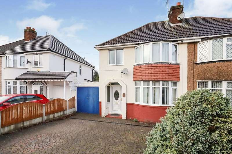 3 Bedrooms Semi Detached House for rent in Winchester Road, Wolverhampton, WV10